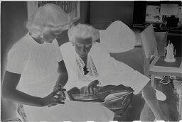 [Wysse Feininger And Her Sister From Sweden]