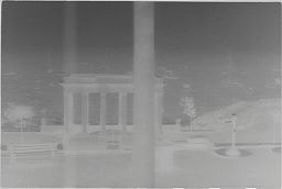 [View Out Window Of Plymouth Rock Memorial, Plymouth, Massachusetts]
