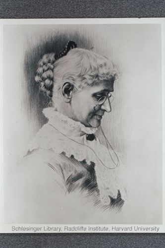 Portraits of Lydia Pinkham, used for packaging and advertising