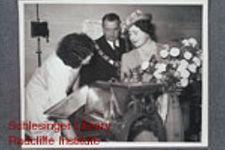 H. M. Queen Elizabeth touring Women