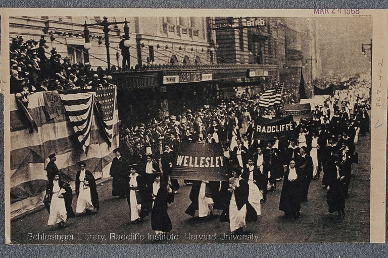 Suffrage parade in New York City, 1910.