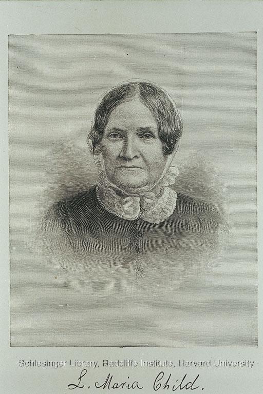 Portrait of Lydia Maria Child