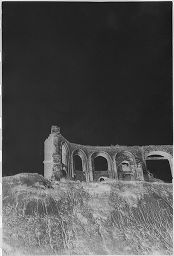 [Ruins On The Cliff At Hoff]