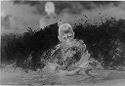 Untitled (Male Swimmer Riding A Wave, Vietnam)