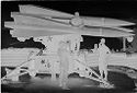 Untitled (Three Soldiers Standing With Missle Launcher, Vietnam)