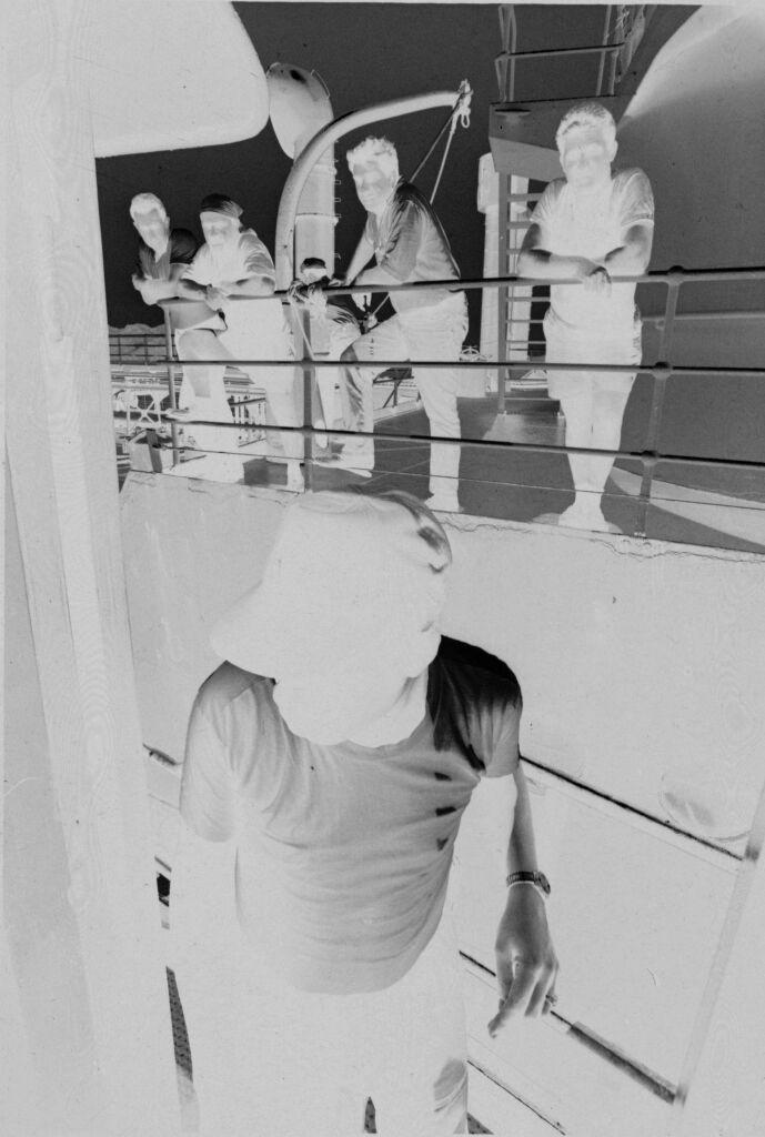 Untitled (Soldiers Standing On Decks Of Ship, Vietnam)