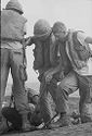 Untitled (Soldiers Setting Up Satellite Dish(?), Vietnam)