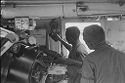 Untitled (Soldiers Checking Controls Inside Aircraft, Vietnam)