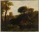 Romantic Landscape With Castle