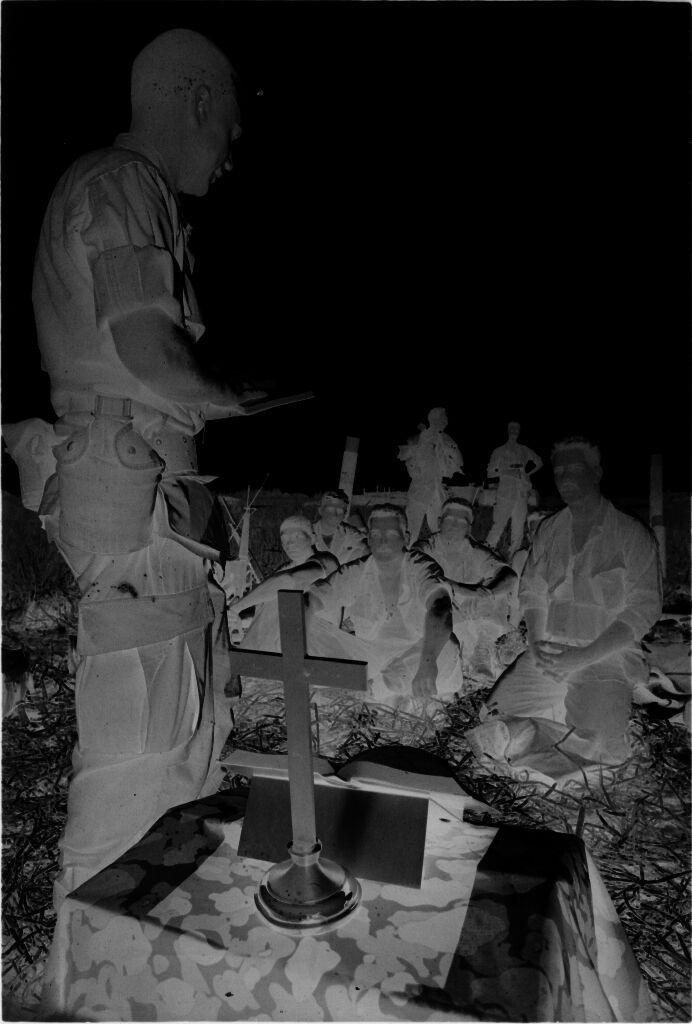 Untitled (Religious Field Service, Vietnam)