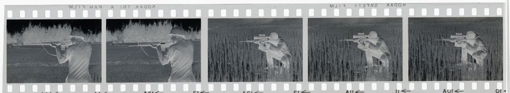 Untitled (Soldiers In Rice Paddy Aiming Weapons, Vietnam)