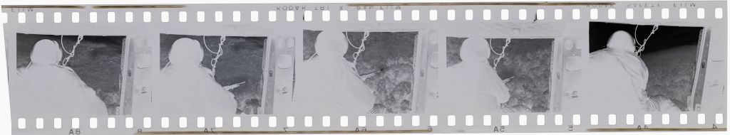 Untitled (View Out Of Helicopter Over Jungle, Vietnam)