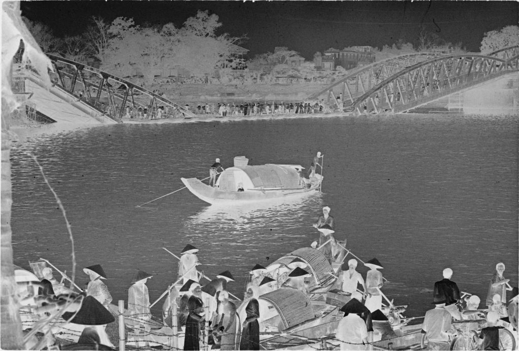 Untitled (Collapsed Bridge And Sampan Boats On The Perfume River, Hue, Vietnam)