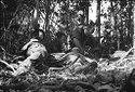 Untitled (Soldiers Providing Emergency Treatment For Member Of Unit Wounded In Battle, Vietnam)
