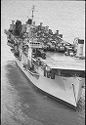 Untitled (Aerial View Of Aircraft Carrier, Vietnam)
