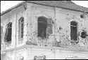 Untitled (Artillery-Damaged Building, Hue, Vietnam)