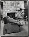 Breuer Residence, Lincoln, Massachusetts, 1938-1939: Living Room