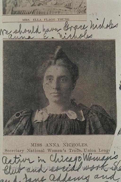 Portrait of Anna Nicholes