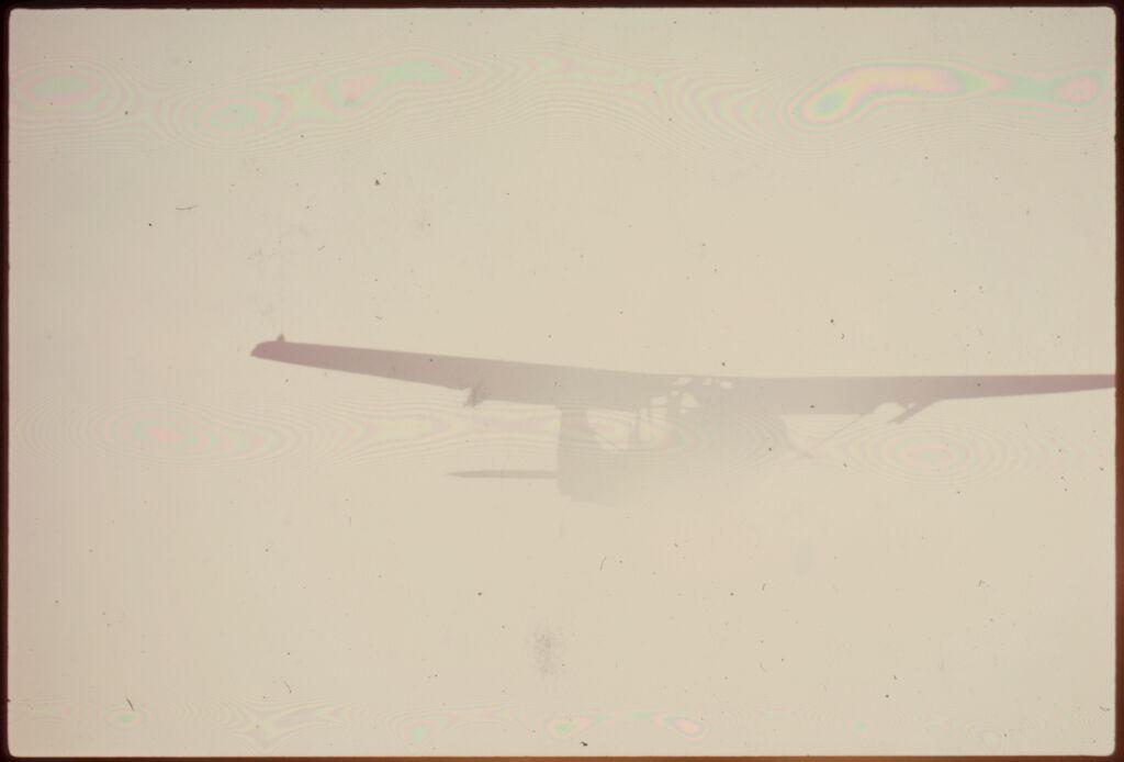 Untitled (Army Plane Flying In Foggy Sky, Vietnam)