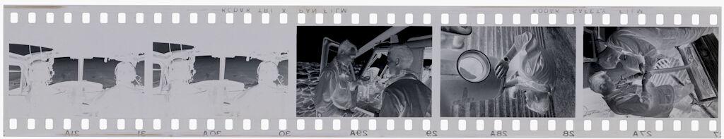 Untitled (Checking Ammunition; Helicopter, Vietnam)