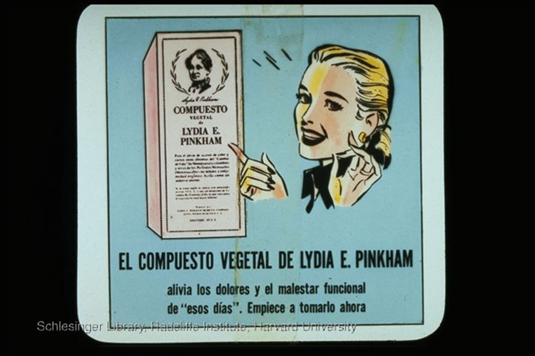 Spanish language advertisements for Pinkham Vegetable Compound.