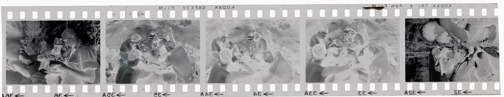 Untitled (Soldiers Playing Cards; Examining A Map, Vietnam)