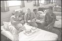 Untitled (Recovering Soldiers In Hospital Ward, Vietnam)