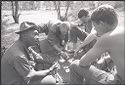 Untitled (Four Soldiers Playing Cards, Vietnam)