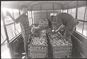 Untitled (Soldiers Examining Bins Of Produce And Shelves Of Bread, Vietnam)