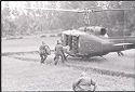 Untitled (Unloading Supplies From Helicopter, Vietnam)