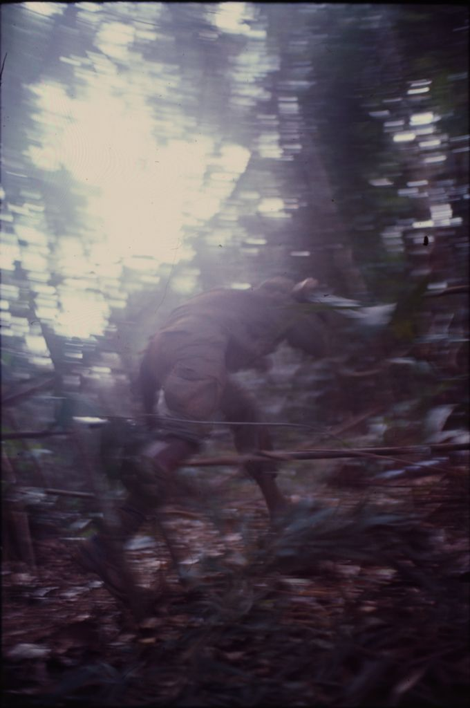 Untitled (Soldiers In The Jungle During Fighting In Central Highlands Near Dak To, Vietnam)