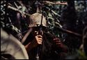 Untitled (Soldier On Watch Holding Gun During Fighting In Central Highlands Near Dak To, Vietnam)