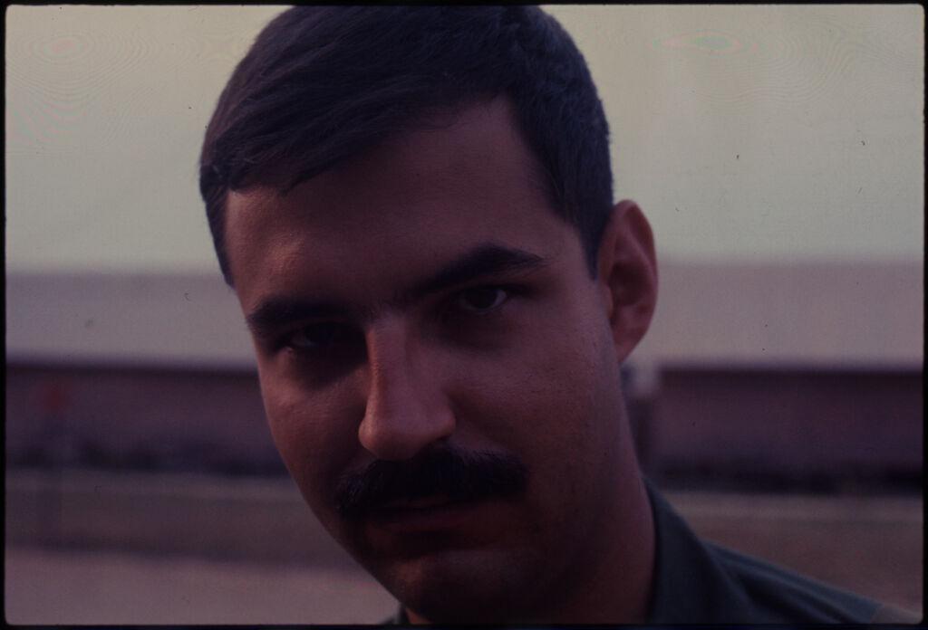 Untitled (Soldier With Mustache, Vietnam)