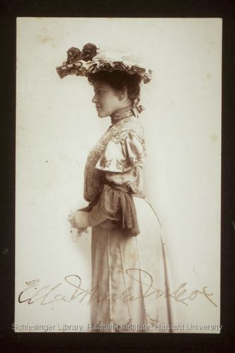 Portrait of Ella Wheeler Wilcox