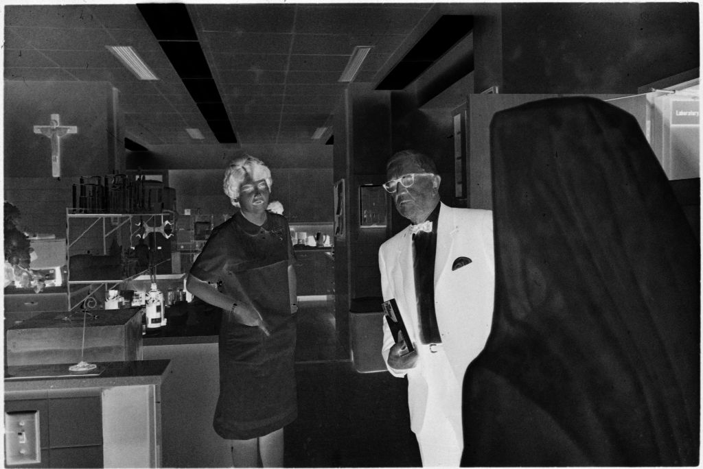 Untitled (Dr. Herman M. Juergens And Nurse In Office)
