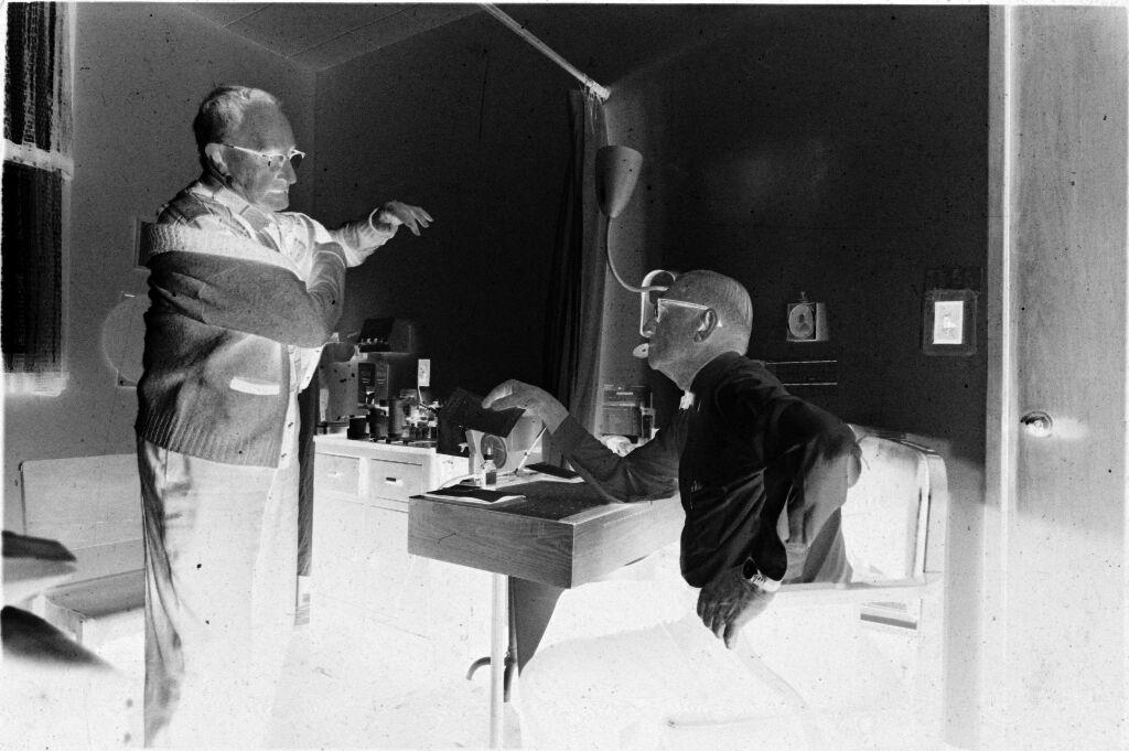 Untitled (Dr. Herman M. Juergens Taking Patient's Blood Pressure)