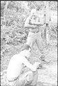 Untitled (Soldiers Washing, Vietnam)