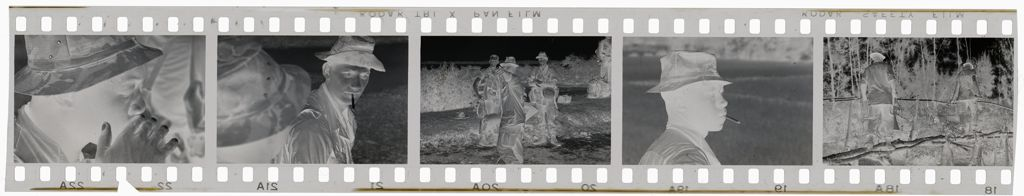 Untitled (Miscellaneous Views Of Soldiers Marching Through Jungle, Vietnam)