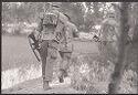 Untitled (Soldiers Walking Through Fields, Vietnam)