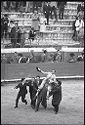 Untitled (Matador Carried On Shoulders Around Bullring)