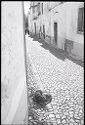 Untitled (Cobblestone Street, Nazaré, Portugal)