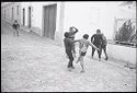 Untitled (Children Playing In The Street, Nazaré, Portugal)