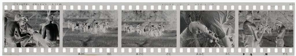 Untitled (Soldiers In Clearing In Jungle, Vietnam)