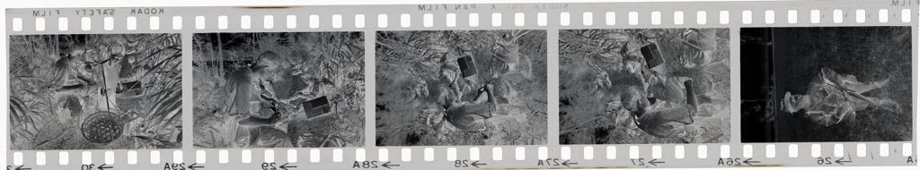 Untitled (Soldier In Clearing; Soldiers Taking Break On Path, Vietnam)