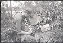 Untitled (Soldiers Taking A Break During Patrol, Vietnam)