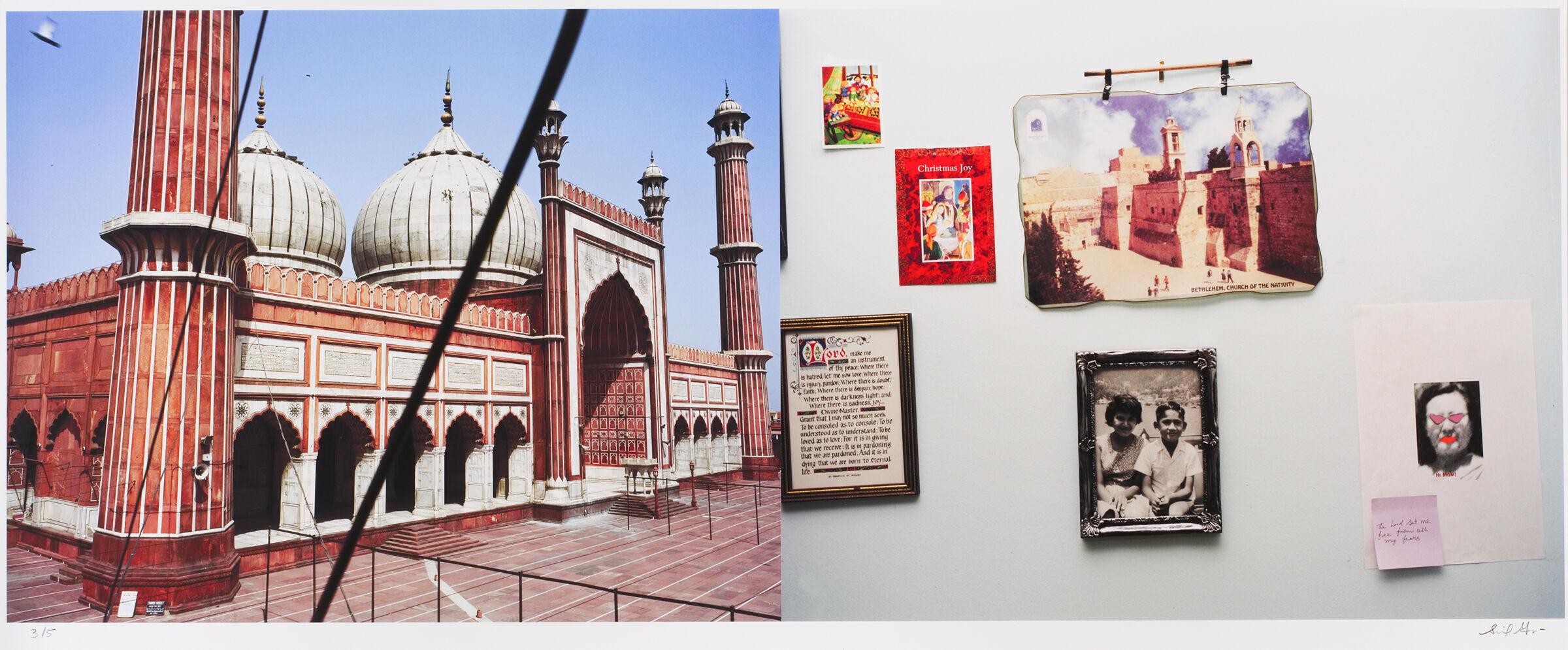 Jama Masjid, Delhi/boulevard Rene Lesvesque Ouest, Montreal