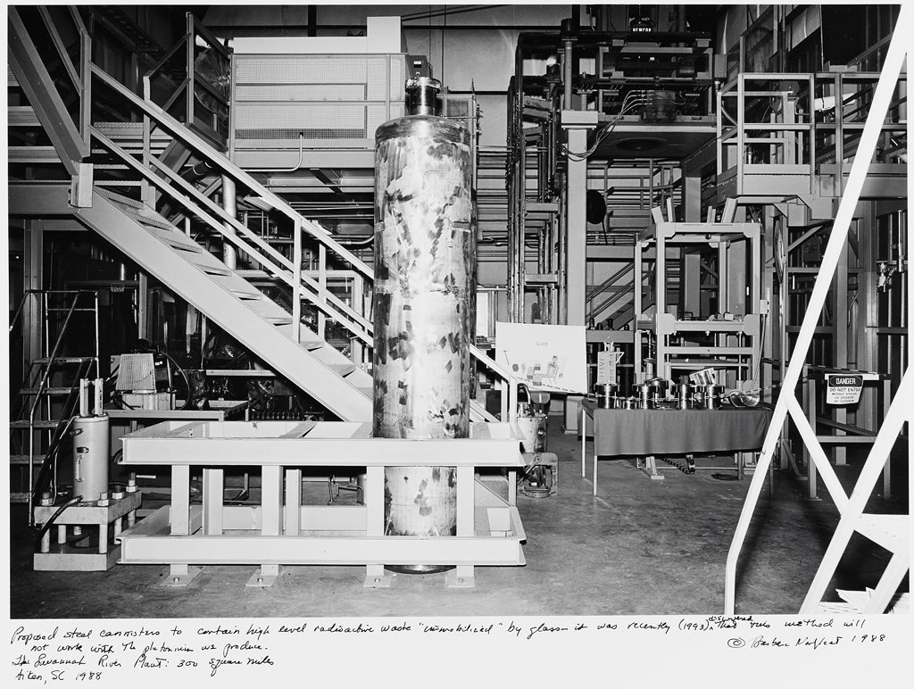 Proposed Steel Canisters To Contain High Level Radioactive Waste