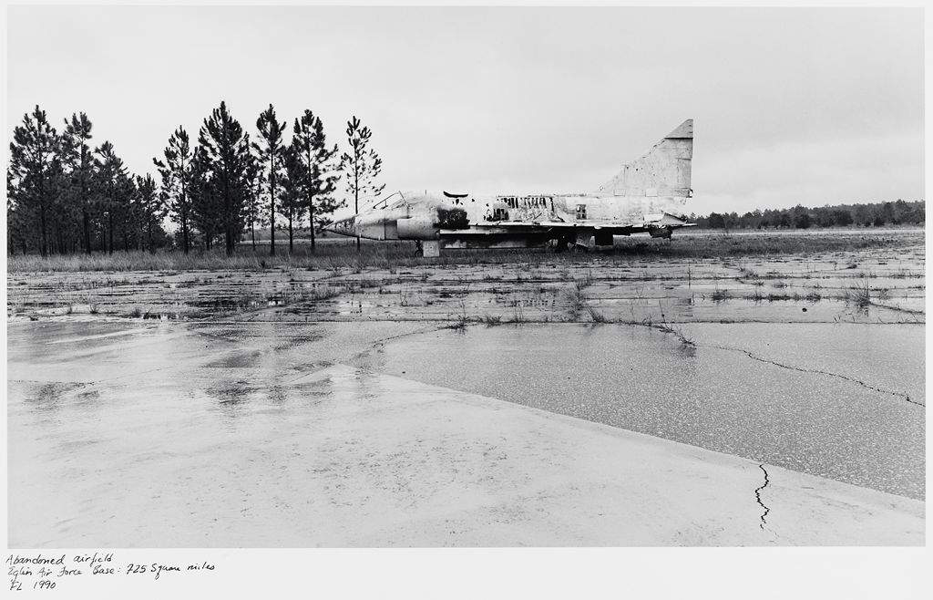 Abandoned Airfield, Eglin Air Force Base: 725 Square Miles, Fl