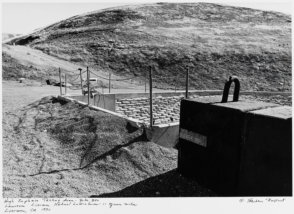High Explosive Testing Area - Site 300, Laurence Livermore National Laboratories: 11 Square Miles, Livermore, Ca