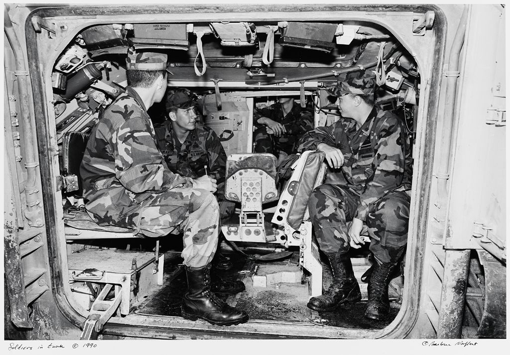 Soldiers In Tank